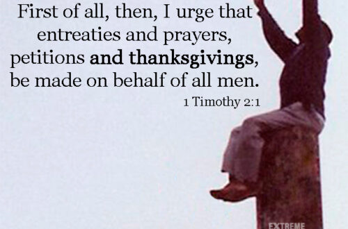 The Prayer Power of Thankfulness